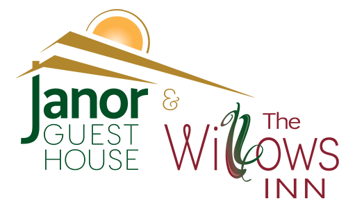 Janor guest house and The Willows Inn Logo